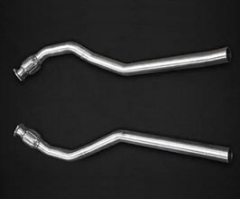 Capristo Silencer Bypass Pipes (Stainless) for Audi A5 B8