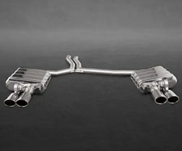 Capristo Valved Exhaust System with Mid Pipes (Stainless) for Audi A5 B8