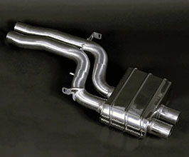 Capristo Middle Silencer Pipes (Stainless) for Audi A5 B8