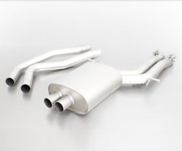 REMUS Racing Front Pipes with Silencer (Stainless) for Audi A5 B8