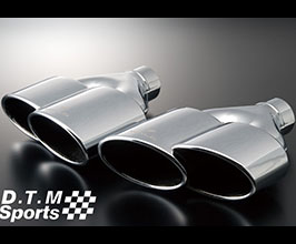 WALD DTM Sports TWIN240x2 Muffler Cutter Exhaust Tips (Stainless) for Audi A5 B8