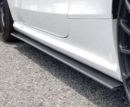 balance it Aero Side Under Spoilers (Carbon Fiber) for Audi A5 B8