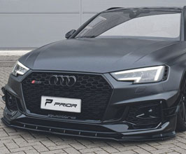 PRIOR Design PD Front Lip Spoiler (FRP) for Audi A5 B8