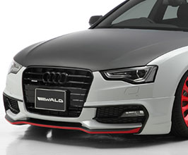 WALD Sports Line Front Half Spoiler (FRP) for Audi A5 B8