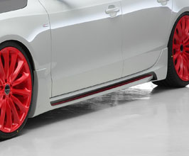 WALD Sports Line Side Steps (FRP) for Audi A5 B8