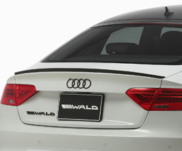 WALD Sports Line Rear Trunk Spoiler (FRP) for Audi A5 B8