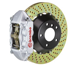 Brembo Gran Turismo Brake System - Front 4POT with 365mm 2-Piece Drilled Rotors for Audi A5 B8