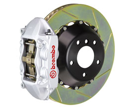 Brembo Gran Turismo Brake System - Rear 4POT with 380x28mm 2-Piece Slotted Rotors for Audi A5 B8