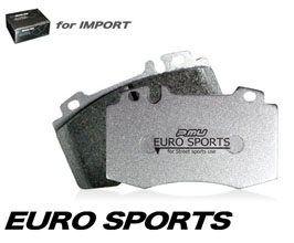 Project Mu Euro Sports Brake Pads - Rear