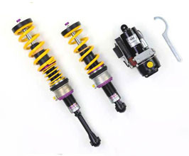 KW V2 Coilover Kit with Front Hydraulic Lift System for Audi A5 B8