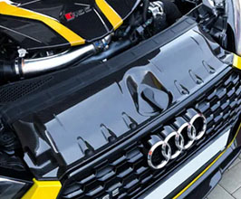 Capristo Engine Bay Lock Cover (Carbon Fiber) for Audi A5 B9