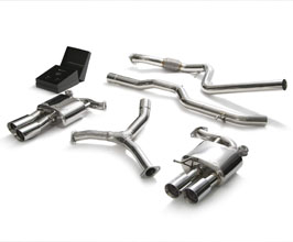 ARMYTRIX Valvetronic Exhaust System with Front and Mid Pipes (Stainless) for Audi A5 B9