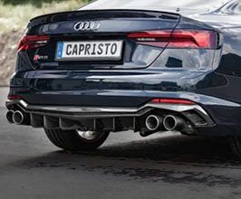 Capristo Rear Diffuser (Carbon Fiber) for Audi A5 B9