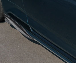 Capristo Side Fin Under Spoilers (Carbon Fiber) for Audi A5 B9