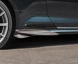 Capristo Side Fin Spoilers (Carbon Fiber) for Audi A5 B9