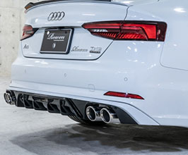 ROWEN New Product Aero Rear Under Diffuser for Audi A5 B9