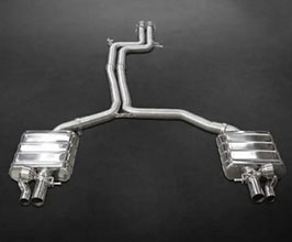 Capristo Valved Exhaust with Mid-Pipes (Stainless) for Audi A6 C7
