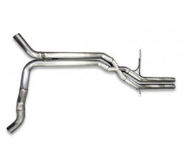Tubi Style Exhaust Central Pipes (Stainless) for Audi A6 C7