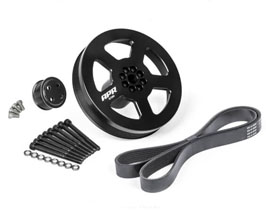 APR Supercharger Drive and Crank Pulley Set - Bolt On for Audi A6 C7