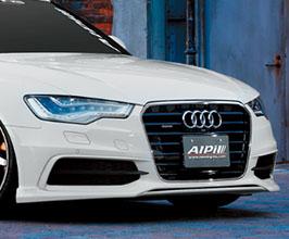 NEWING Alpil Front Lip Spoiler for Audi A6 C7