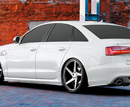NEWING Alpil Side and Rear Side Under Spoilers Set for Audi A6 C7