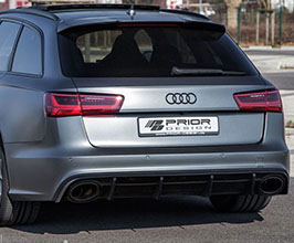 PRIOR Design PD600R Rear Bumper (FRP) for Audi A6 C7