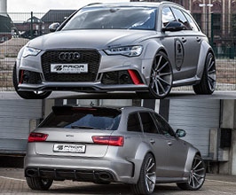 PRIOR Design PD600R Wide Body Kit (FRP) for Audi A6 C7