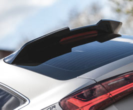 PRIOR Design PD600R Rear Roof Spoiler (FRP) for Audi A6 C7