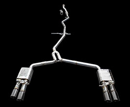 iPE Exhaust Valvetronic Exhaust System with Front and X-Pipes (Stainless) for Audi A7 C7