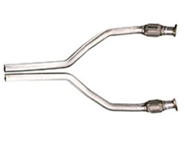 Tubi Style Exhaust Front Pipes (Stainless) for Audi A7 C7