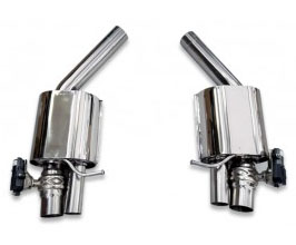 Tubi Style Exhaust Muffler Sections Kit (Stainless) for Audi A7 C7