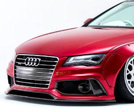 NEWING Alpil x LB Works Front Bumper (FRP) for Audi A7 C7