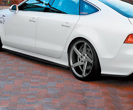 NEWING Alpil Side and Rear Under Spoiler Set for Audi A7 C7