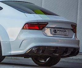 PRIOR Design PD700R Rear Bumper (FRP) for Audi A7 C7