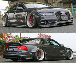 Liberty Walk LB Works Wide Body Kit (FRP) for Audi A7 C7