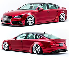 NEWING Alpil x LB Works Body Kit (FRP) for Audi A7 C7
