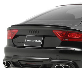 WALD Sports Line Rear Trunk Spoiler (FRP) for Audi A7 C7