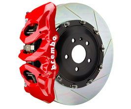 Brembo B-M Brake System - Front 6POT with 380x34mm 2-Piece Slotted Rotors for Audi A7 C7