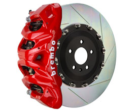 Brembo B-M Brake System - Front 8POT with 412x38mm 2-Piece Slotted Rotors for Audi A7 C7