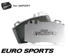Project Mu Euro Sports Brake Pads - Rear for Audi A7 C7