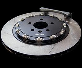 balance it Rear 2-Piece Big Brake Rotors - 370mm Floating Ventilated