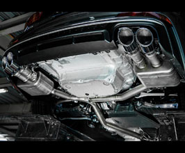 iPE Exhaust Exhaust System with Front and Mid Pipes and Rear Diffuser (Stainless) for Audi A7 C8