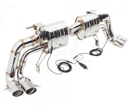 Meisterschaft by GTHAUS GTC Exhaust System with Valve Control (Stainless)