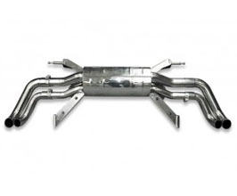 Tubi Style Exhaust Muffler System (Stainless)