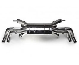 Tubi Style Exhaust Muffler System - Loud Version (Stainless) for Audi R8 1
