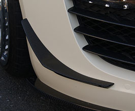 balance it Aero Front Bumper Canards for Audi R8 1