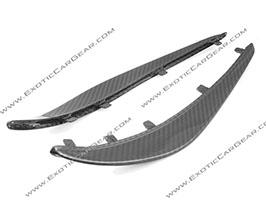 Exotic Car Gear Front Bumper Canards (Carbon Fiber) for Audi R8 1