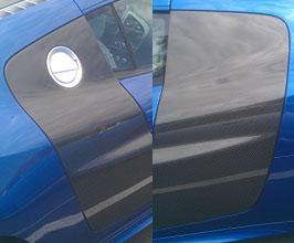 Exotic Car Gear Side Blade Panels (Carbon Fiber) for Audi R8 1