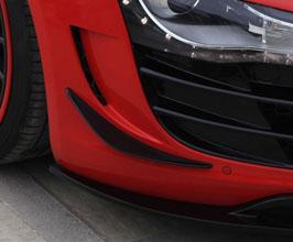 PRIOR Design PD-GT650 Aerodynamic Front Bumper Canards Set (FRP) for Audi R8 1