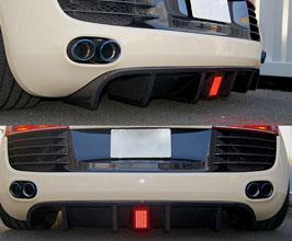 balance it Aero Rear Diffuser for Audi R8 1